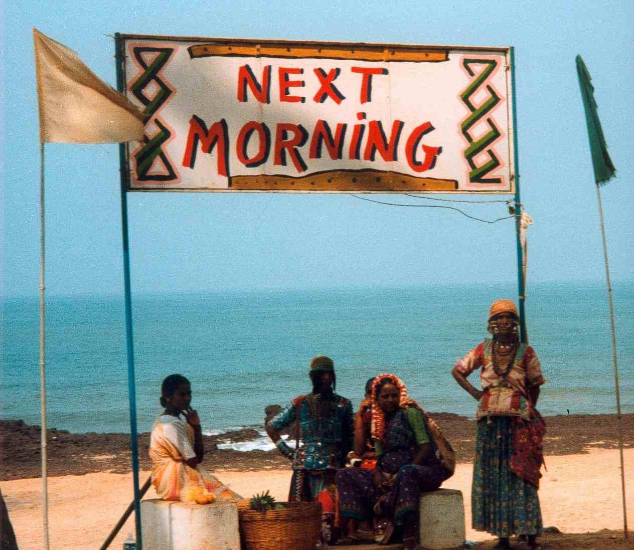 next morning